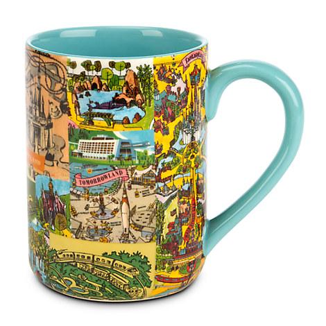 Magic Kingdom Map 2010 Magic Kingdom Map Mug