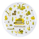 Frontierland Plate - 8''