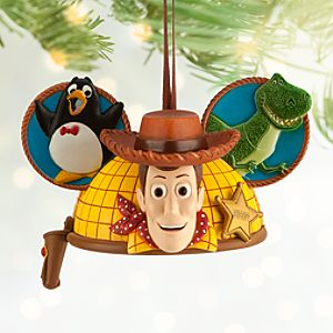 Woody Ear Hat Ornament