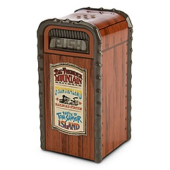 Frontierland Trash Can Salt or Pepper Shaker