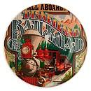 Disney Parks Attraction Poster Plate - Disneyland Railroad - 7''