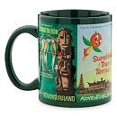Disney Parks Attraction Poster Mug - Green