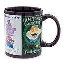 Disney Parks Attraction Poster Mug - Purple