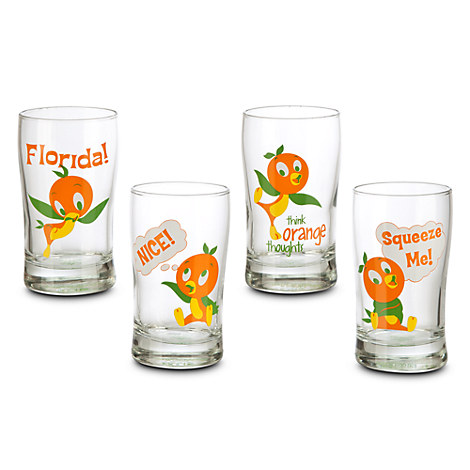 Glass Sets Juice Glasses Orange Bird Juice Glass Set