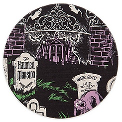 Disney Parks Attraction Art Coaster - The Haunted Mansion