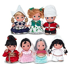 ''it's a small world'' Doll Set by Precious Moments