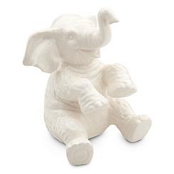 Jungle Cruise Elephant Figure - White