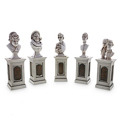 The Haunted Mansion Pillar Bust Set