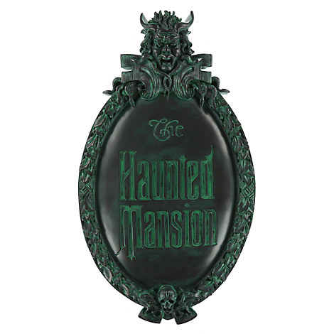 The Haunted Mansion Wall Sign