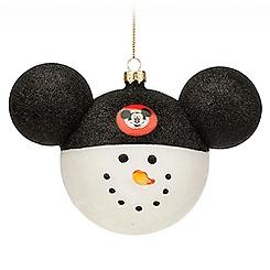 Mickey Mouse Club Snowman Ornament