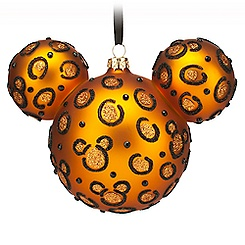 Mickey Icon Ornament - Cheetah