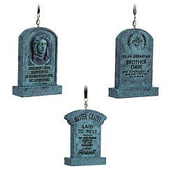 The Haunted Mansion Tombstone Ornament Set