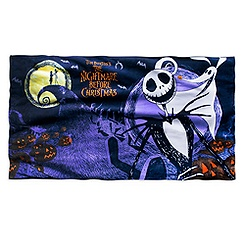 Tim Burton's The Nightmare Before Christmas Beach Towel
