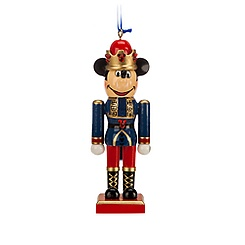 Mickey Mouse Blue King Nutcracker Ornament