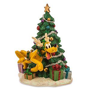 Pluto as Reindeer Holiday Figurine