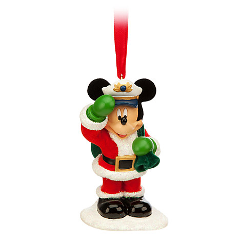 Santa Mickey Ornament  Disney Cruise Line  New Arrivals