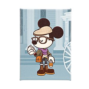 Mickey Mouse ''Hipster Haunt'' Gicleé by Jerrod Maruyama - Medium