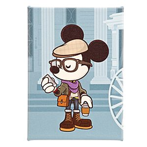 Mickey Mouse ''Hipster Haunt'' Gicleé by Jerrod Maruyama - Large