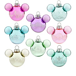 Mickey Mouse Disney Princess Mini Ornament Set