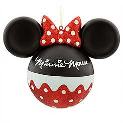 Minnie Mouse Signature Ornament