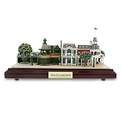 Plaza Ice Cream Parlor Miniature by Olszewski - Walt Disney World