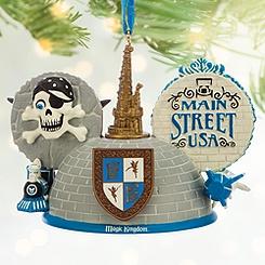 Magic Kingdom Ear Hat Ornament - Walt Disney World