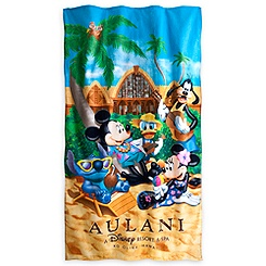 Mickey Mouse and Friends Beach Towel - Aulani, A Disney Resort & Spa