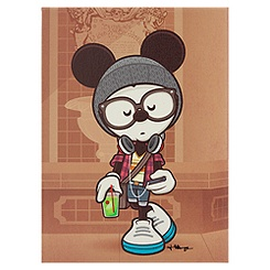 Mickey Mouse ''A Hipsters Life for Me'' Giclée by Jerrod Maruyama - Small