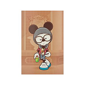 Mickey Mouse ''A Hipsters Life for Me'' Gicleé by Jerrod Maruyama - Medium