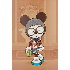Mickey Mouse ''A Hipsters Life for Me'' Gicleé by Jerrod Maruyama - Large