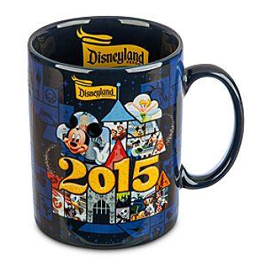 Mickey Mouse and Friends Mug - Disneyland 2015