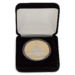 Cinderella Castle DuoTone Medallion - Walt Disney World - Limited Edition