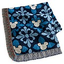 Mickey Mouse Icon Indigo Throw