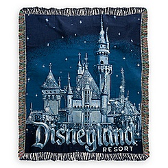 Disneyland 60th Anniversary Tapestry Woven Throw