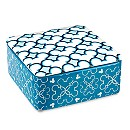 Mickey Mouse Icon Indigo Ceramic Trinket Box