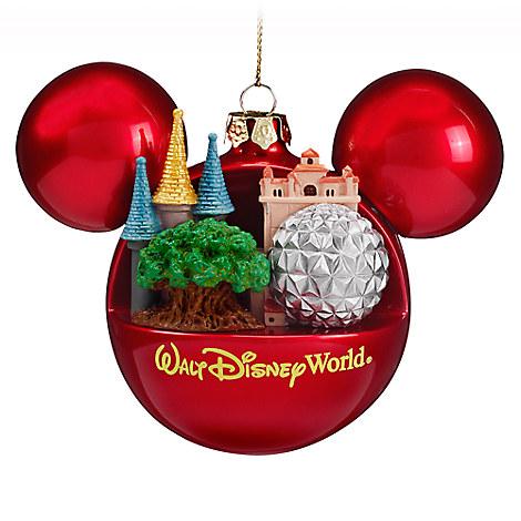 Mickey Mouse Icon Ball Ornament - Walt Disney World