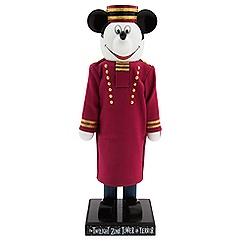 Mickey Mouse Hollywood Tower Hotel Bellhop Nutcracker Figure - 12 3/4''