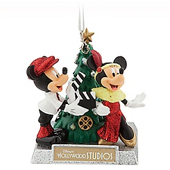 Mickey and Minnie Mouse Holiday Ornament - Disney's Hollywood Studios