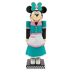 Minnie Mouse Flo's V-8 Café Waitress Nutcracker Figure - 13''