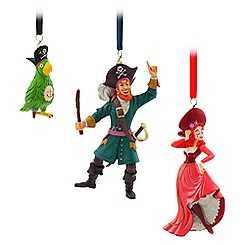 Pirates of the Caribbean Character Ornament Set