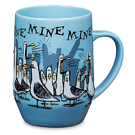 Finding Nemo Seagulls Mug Drinkware Disney Store