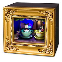 Mickey and Minnie Mouse Mad Tea Party Gallery of Light by Olszewski