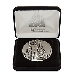 Walt Disney and Mickey Mouse ''Partners'' Medallion - Limited Edition
