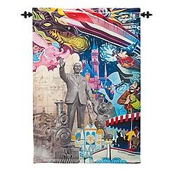 Disneyland Diamond Celebration Tapestry - ''Disneyland is Your Land''