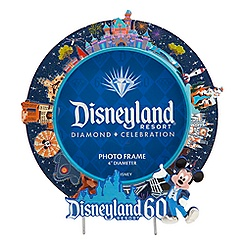 Disneyland 60th Anniversary Round Photo Frame