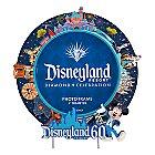 Disneyland 60th Anniversary Round Photo Frame