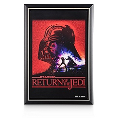 Return of the Jedi Movie Poster Reproduction Metal Print - Framed