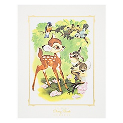 Bambi and Thumper Deluxe Print