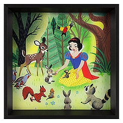 Snow White Framed Deluxe Print