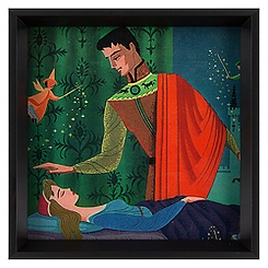 Sleeping Beauty Framed Deluxe Print